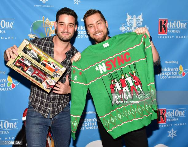Lance Bass and Michael Turchin attend the 13th Annual Christmas In September Benefiting Children's Hospital Los Angeles at The Abbey on September 25...