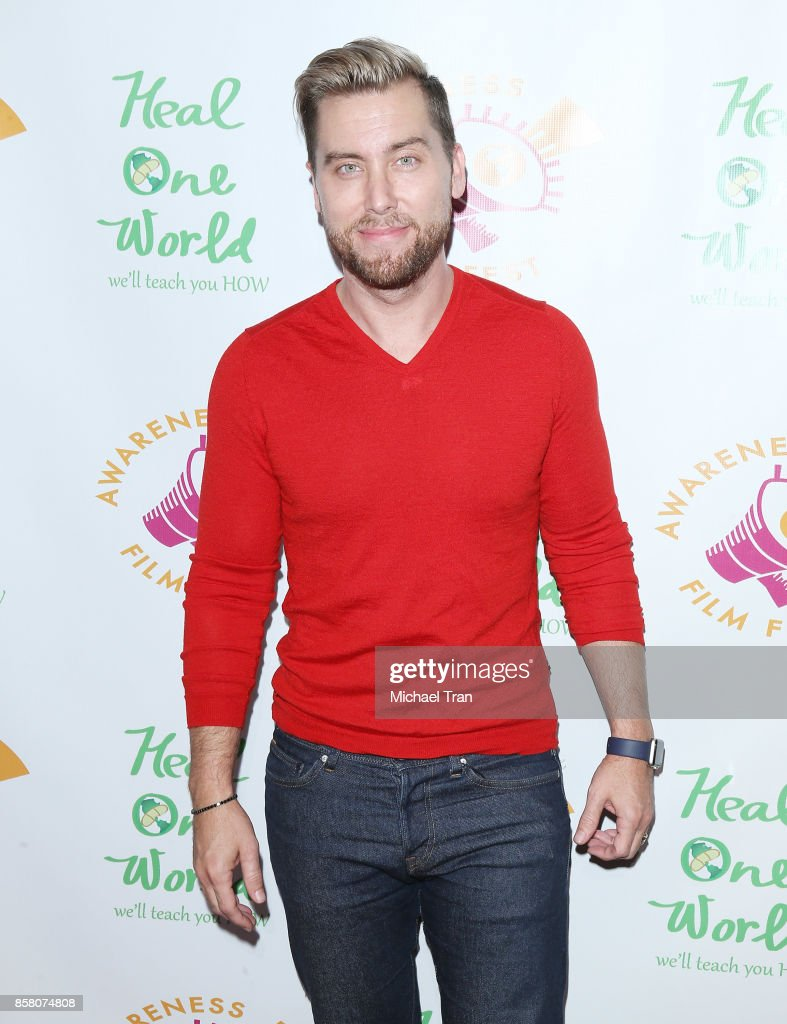 Lance Bass arrives to the 2017 Awareness Film Festival Opening Night Premiere of 'The Road to Yulin and Beyond' at Regal LA Live Stadium 14 on October 5, 2017 in Los Angeles, California.