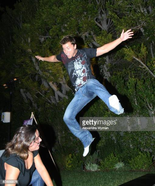 Lance Bass at The Lollipop Theater Network's Game Day 2009 Sneak Peek Event held at The Home of Janet Crown on September 16 2008 in Los Angeles...