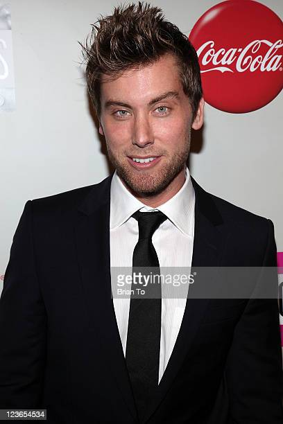 Lance Bass attends 2010 American Music Awards preparty charity bowl tournament at Lucky Strike Lanes at LA Live on November 20 2010 in Los Angeles...