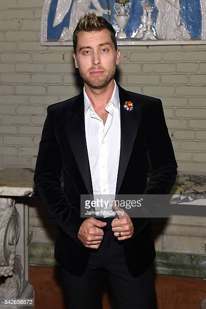 Lance Bass attends 2016 Logo's Trailblazer Honors at Cathedral of St John the Divine on June 23 2016 in New York City