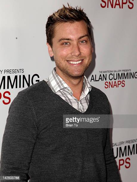 Lance Bass attends Alan Cumming Snaps photography exhibition at Andaz on April 5 2012 in West Hollywood California