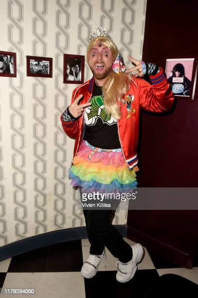 Lance Bass attends Podwall Entertainment's 10th Annual Halloween Party presented by Maker's Mark on October 31 2019 in West Hollywood California