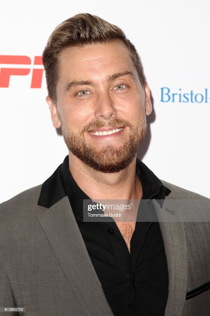 Lance Bass attends the 3rd Annual Sports Humanitarian Of The Year Awards at The Novo by Microsoft on July 11, 2017 in Los Angeles, California.