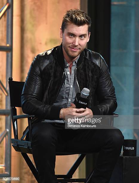 Lance Bass attends the AOL Build Speaker Series Lance Bass Dirty Pop With Lance Bass
