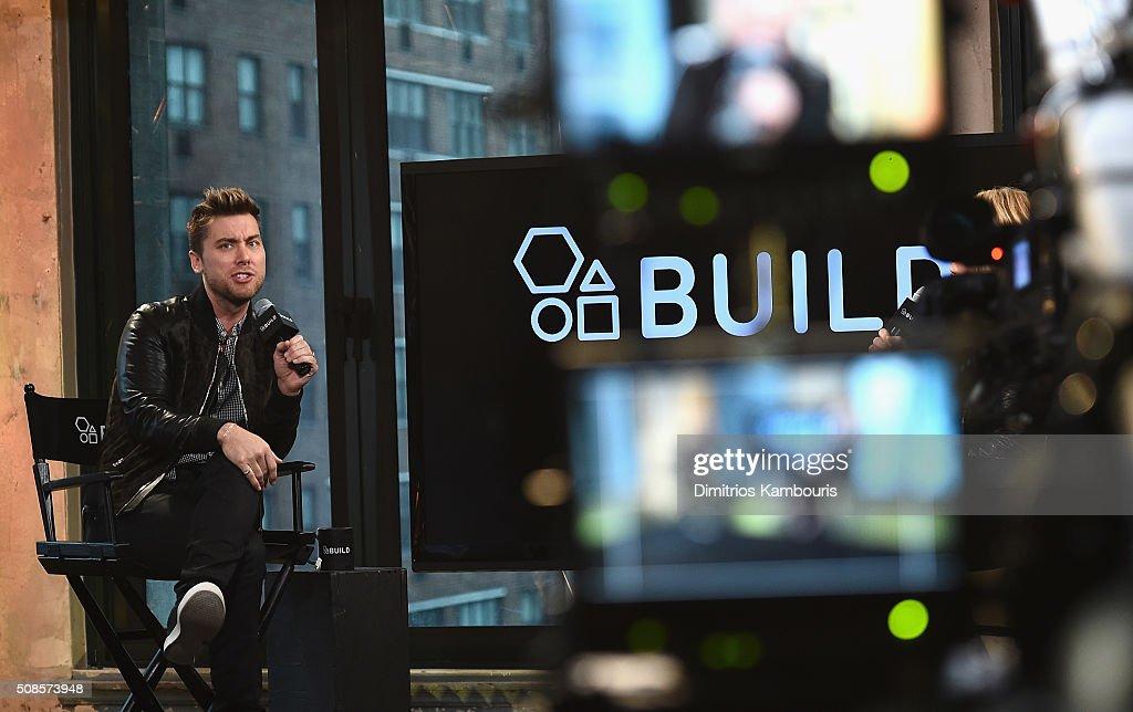 Lance Bass attends the AOL Build Speaker Series - Lance Bass, 'Dirty Pop With Lance Bass'