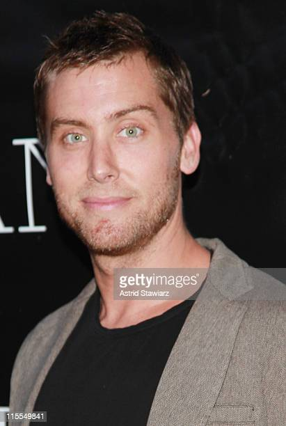 Lance Bass attends the Beekman Beer Garden Beach Club grand opening party on June 7, 2011 in New York City.