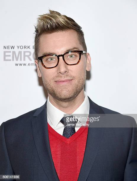 Lance Bass attends the BELLA New York Lance Bass Cover Launch Party at Troy Liquor Bar on January 21 2016 in New York City