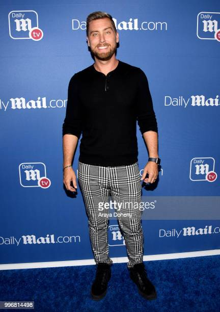 Lance Bass attends the DailyMailcom DailyMailTV Summer Party at Tom Tom on July 11 2018 in West Hollywood California