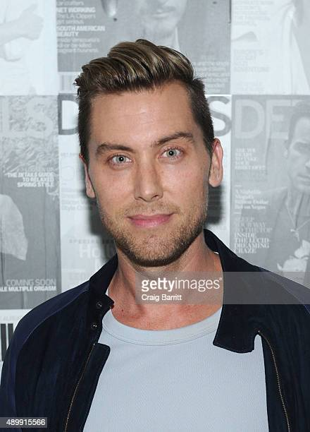 Lance Bass attends the DETAILS magazine 15th anniversary celebration on September 24 2015 in New York City
