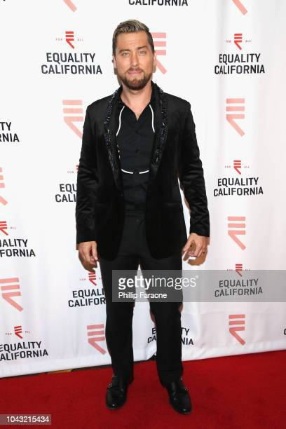 Lance Bass attends the Equality California 2018 Los Angeles Equality Awards at JW Marriott Los Angeles at LA LIVE on September 29 2018 in Los Angeles...