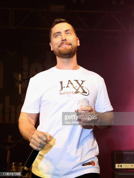Lance Bass attends the SXSW Interactive Bash at Stubb's BarBQ during the 2019 SXSW Conference And Festival on March 12 2019 in Austin Texas