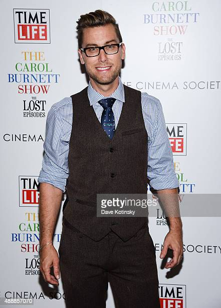 """Lance Bass attends the """"The Carol Burnett Show: The Lost Episodes"""" screening hosted by Time Life and The Cinema Society at Tribeca Grand Hotel on..."""