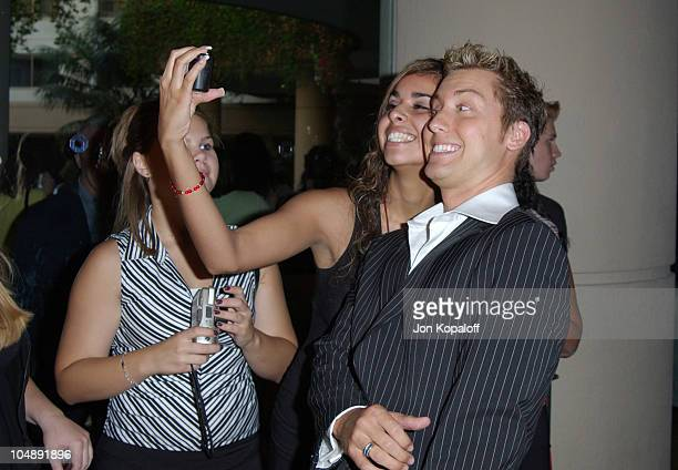 Lance Bass during 5th Annual Family Television Awards at Beverly Hilton Hotel in Beverly Hills California United States