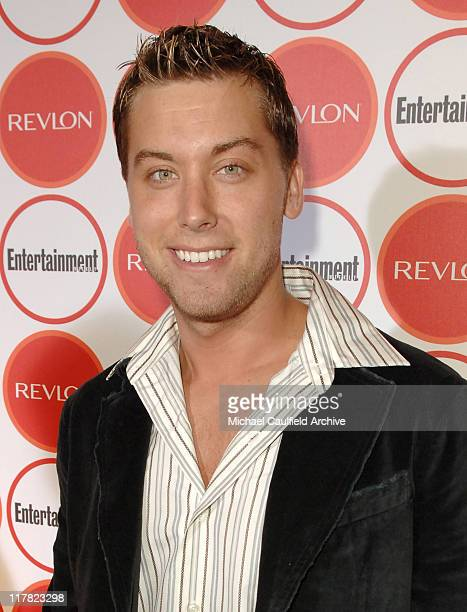 Lance Bass during Entertainment Weekly Magazine 4th Annual Pre-Emmy Party - Red Carpet at Republic in Los Angeles, California, United States.