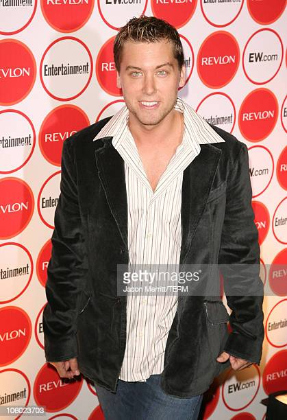 Lance Bass during Entertainment Weekly's 4th Annual Pre-Emmy Party at Republic in West Hollywood, California, United States.