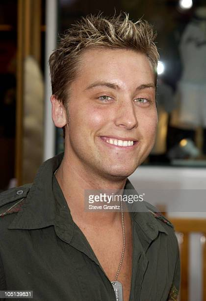 Lance Bass during The World Premiere of Bruce Almighty at Universal Amphitheatre in Universal City California United States