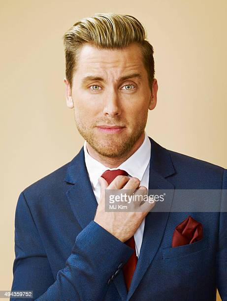 Lance Bass is photographed at the 25th Annual EMA Awards Presented By Toyota And Lexus at Warner Bros Studios on October 24 2015 in Los Angeles...