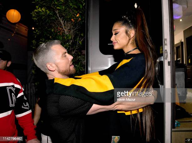 Lance Bass of NSYNC and Ariana attend the 2019 Coachella Valley Music And Arts Festival on April 14 2019 in Indio California