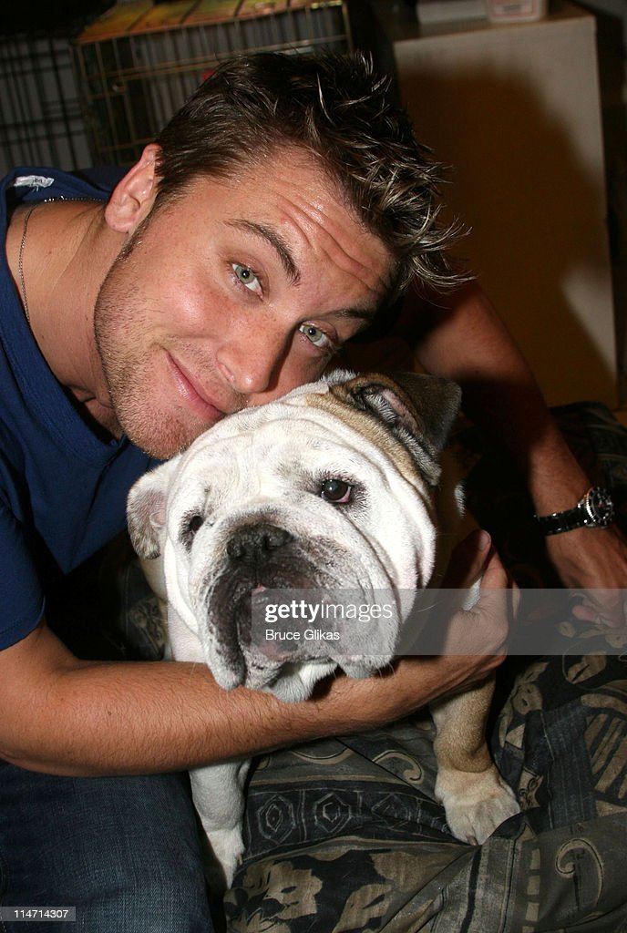 """Lance Bass Visits """"Legally Blonde"""" on Broadway : News Photo"""