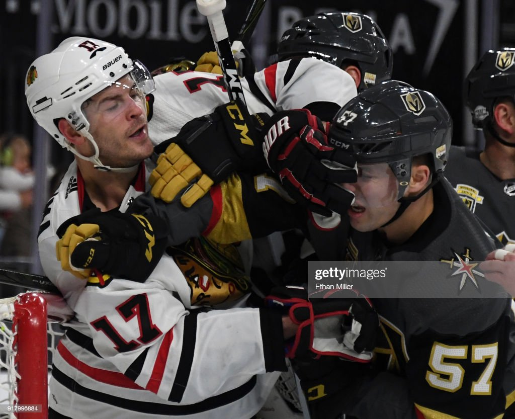 Chicago Blackhawks v Vegas Golden Knights