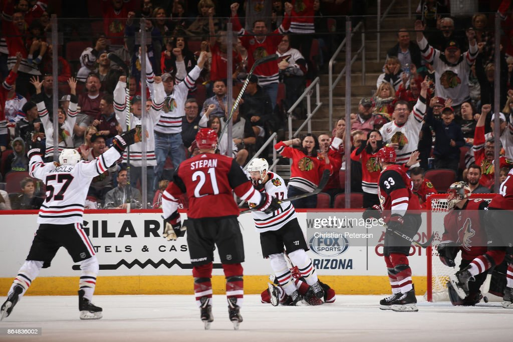 Chicago Blackhawks v Arizona Coyotes