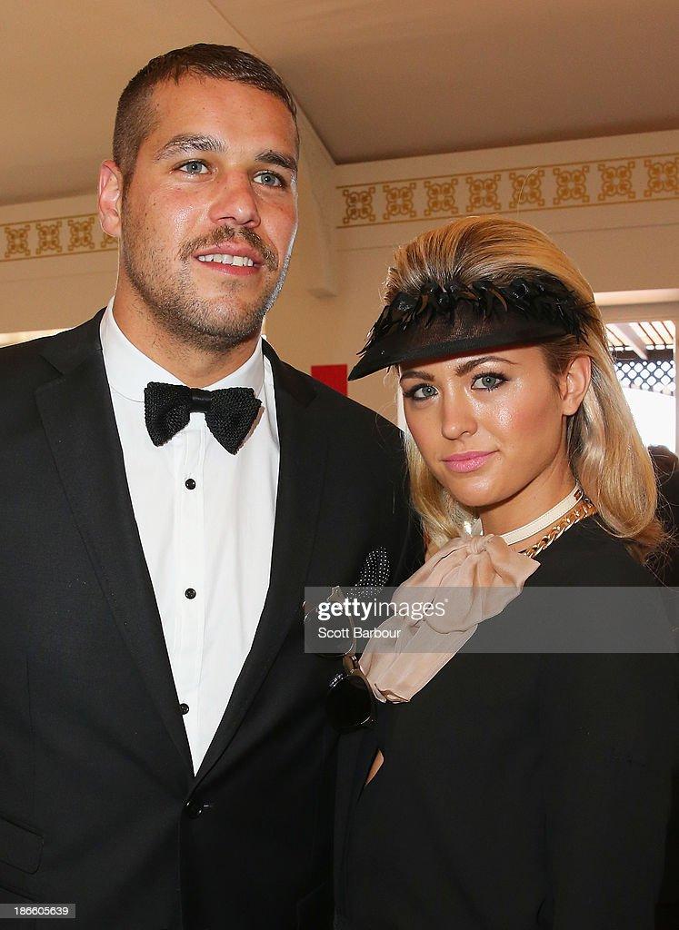 Celebrities Attend Victoria Derby Day