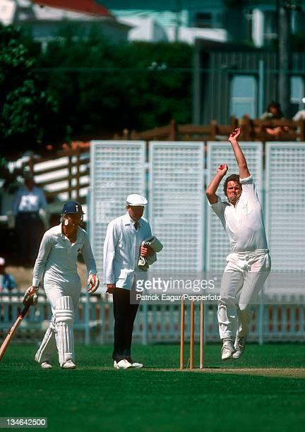 Lance Cairns New Zealand v England 1st Test Wellington January 1983 84