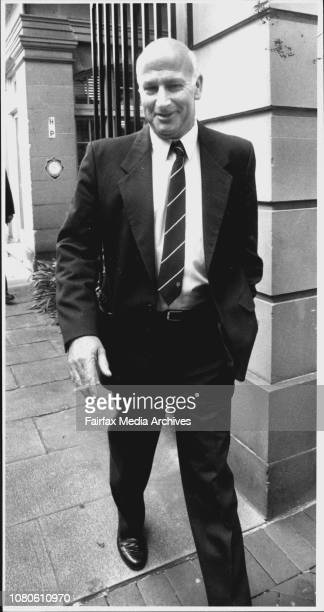 Lance Chaffey a policeman under investigation by ICACPictured here at the District Court Maquarie St SydneyThe criminal Arthur 'Neddy' Smith paid a...