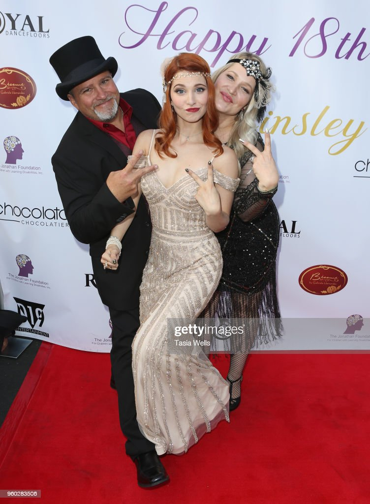 Actress Ainsley Ross Birthday Party  Benefiting The Jonathan Foundation