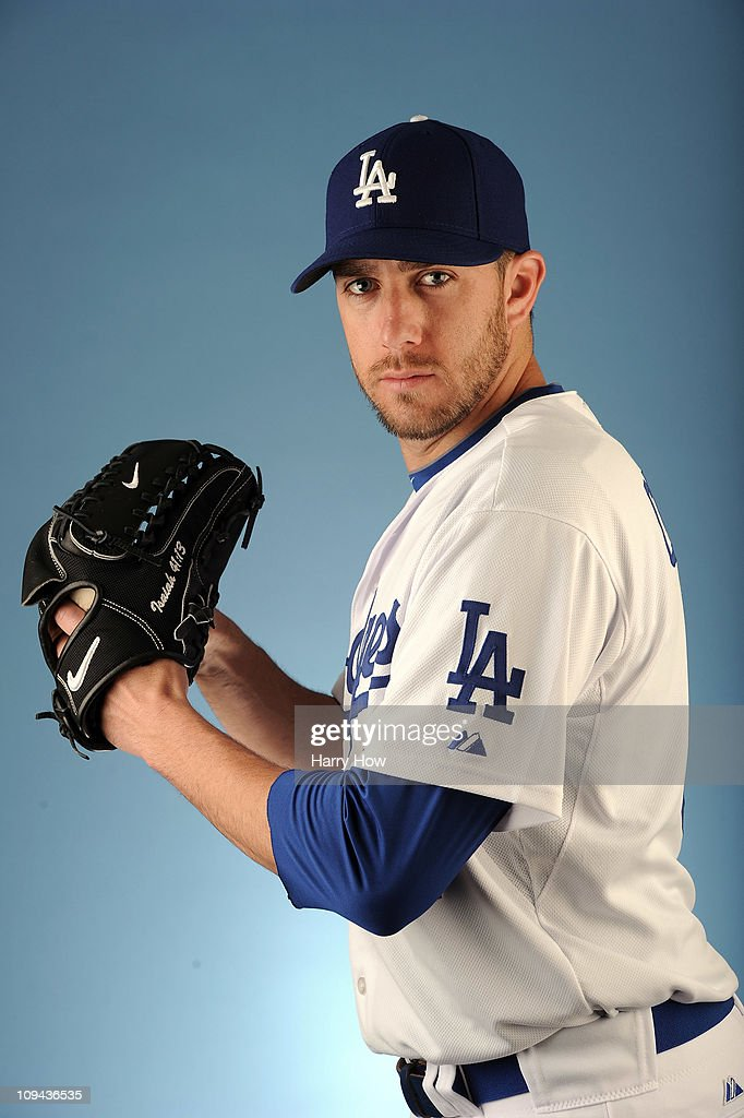 Lance Cormier #81 of the Los Angeles Dodgers poses for a photo on photo day at Camelback Ranch on February 25, 2011 in Glendale, Arizona.