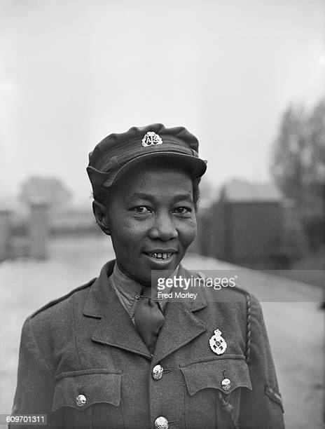Lance Corporal Adina Henrietta Williams of the British Auxiliary Territorial Service UK 26th October 1942 Williams is a former nurse from British...