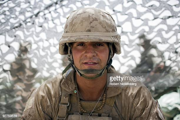 QAL'EHYENAW AFGHANISTAN AUGUST 16 Lance Corporal Chris Bustamante 25 years from Ormond Beach Florida has served in the US Marine Corps 2nd Division...