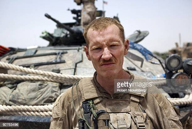 QAL'EHYENAW AFGHANISTAN AUGUST 16 Lance Corporal Clark Connelly 23 years from Apopka Florida has served in the US Marine Corps 2nd Division for 2...
