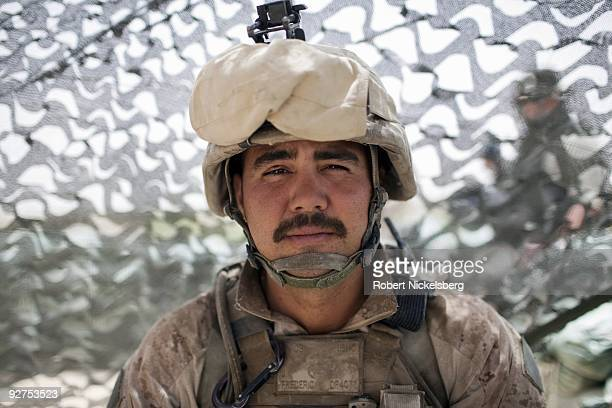 QAL'EHYENAW AFGHANISTAN AUGUST 16 Lance Corporal Joseph Frederick 25 years from Fairfax Virginia has served in the US Marine Corps 2nd Division 2nd...