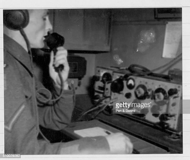 Lance Corporal Using the Radio France