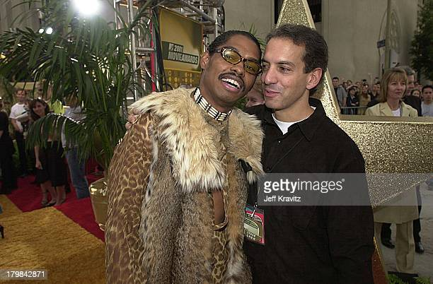 Lance Crouther aka Pootie Tang and Van Toffler during 2001 MTV Movie Awards Arrivals at Shrine Auditorium in Los Angeles California United States
