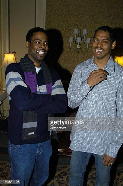 Lance Crouther and Chris Rock during The 10th Annual US Comedy Arts Festival Behind the Scenes of Pootie Tang at St Regis Hotel Ballroom in Aspen...