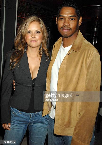 Lance Crouther and guest during I Think I Love My Wife Los Angeles Premiere After Party in Los Angeles California United States