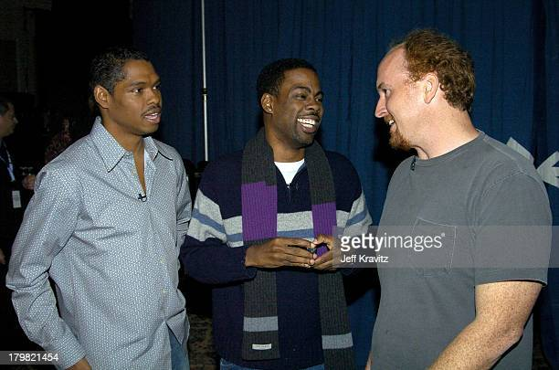 Lance Crouther Chris Rock and Louis CK *Exclusive*
