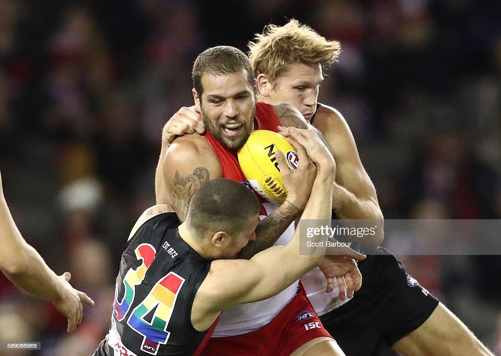 AFL Rd 21 - St Kilda v Sydney : News Photo