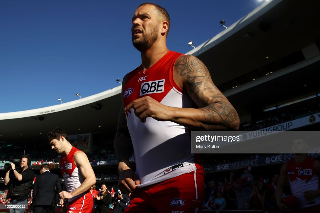 AFL Rd 18 - Sydney v Gold Coast