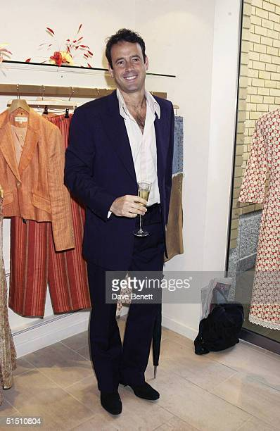 Lance Gerrard Wright attends the Opening of Pantalon Chameleon Store at the Duke of York Square in Chelsea on May 21 2003 in London