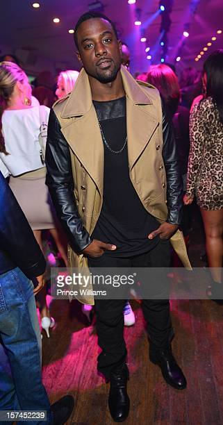 Lance Gross attends a party hosted by Kevin Hart at Compound on December 1 2012 in Atlanta Georgia