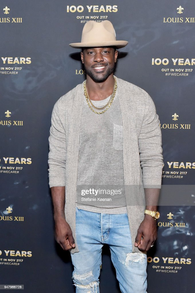 Lance Gross attends LOUIS XIII Cognac Presents '100 Years' - The Song We'll Only Hear #IfWeCare - by Pharrell Williams at Goya Studios on April 17, 2018 in Los Angeles, California.