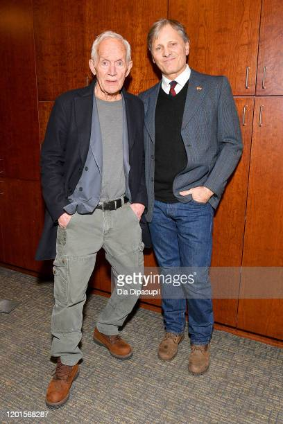 Lance Henriksen and Viggo Mortensen attend UTA Independent Film Group and Hanway host a Private Screening of Falling with Viggo Mortensen and Lance...
