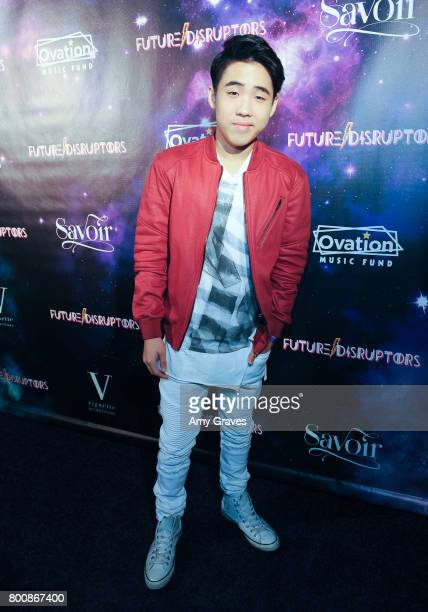 Lance Lim attends the 'Future Disruptors' Premiere at The Comedy Store on June 25 2017 in Los Angeles California