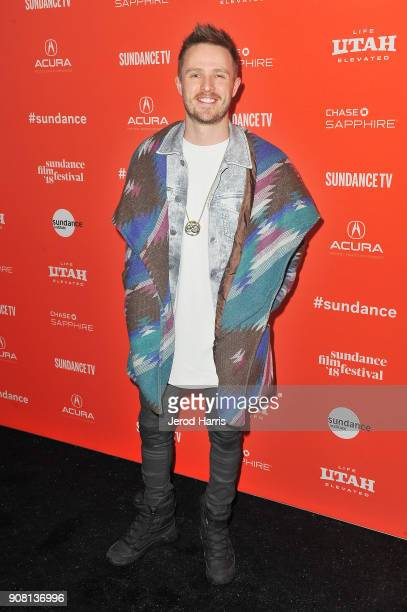 Lance Lowry attends the 'Believer' premiere during the 2018 Sundance Film Festival at The Marc Theatre on January 20 2018 in Park City Utah