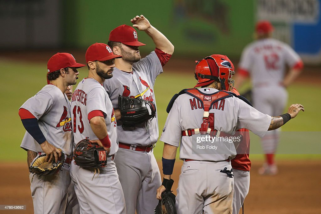 St Louis Cardinals v Miami Marlins