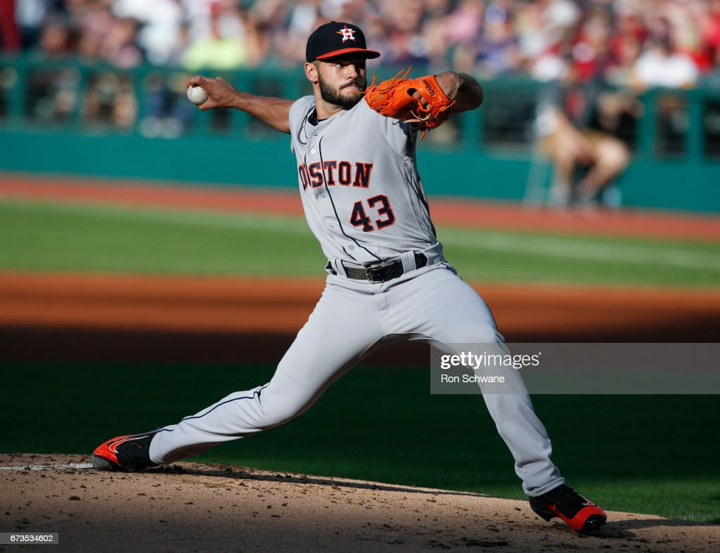 Houston Astros v Cleveland Indians : News Photo